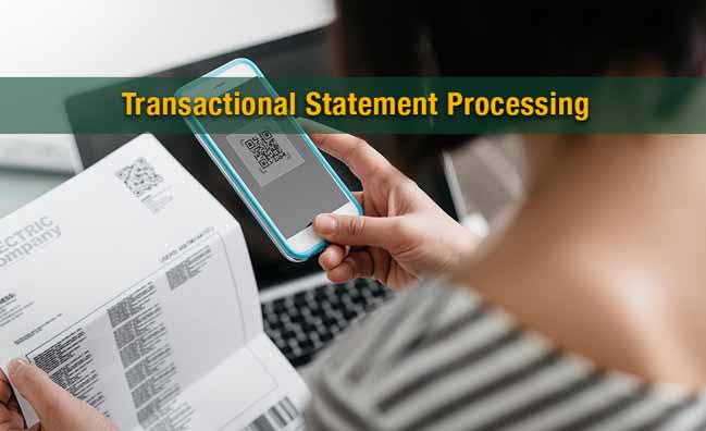 Transactional Statements Processing